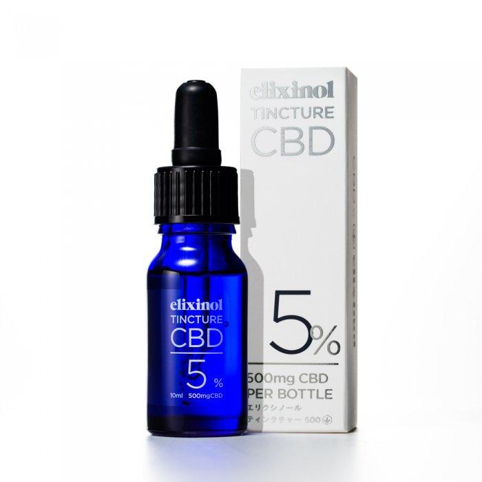 CBD Elixinol エリクシノール CBD ティンクチャー 500