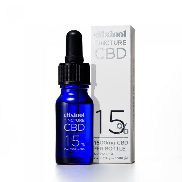 CBD Elixinol エリクシノール CBD ティンクチャー 1500