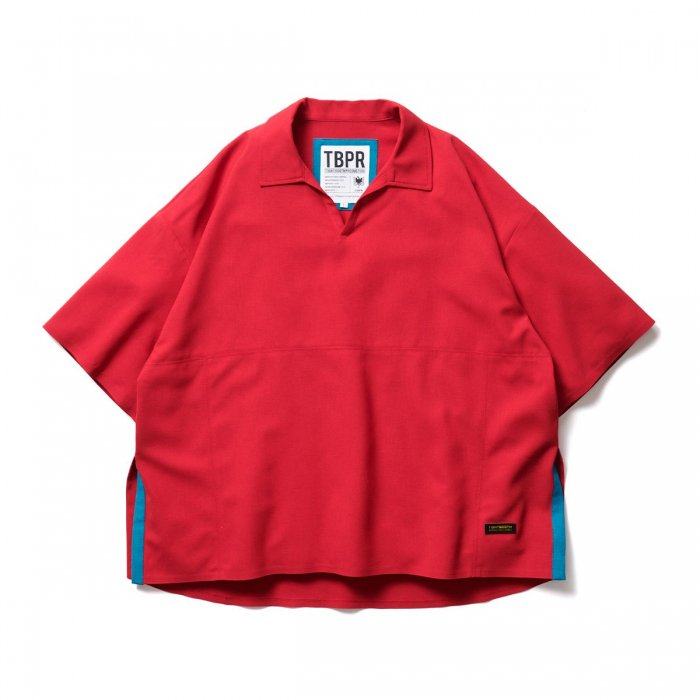 TIGHTBOOTH (タイトブース)CANAPA OPEN POLO (Red)