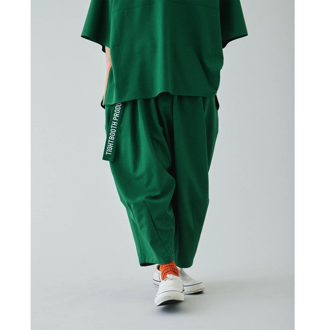 TIGHTBOOTH (タイトブース)CANAPA CROPPED PANTS (Green)