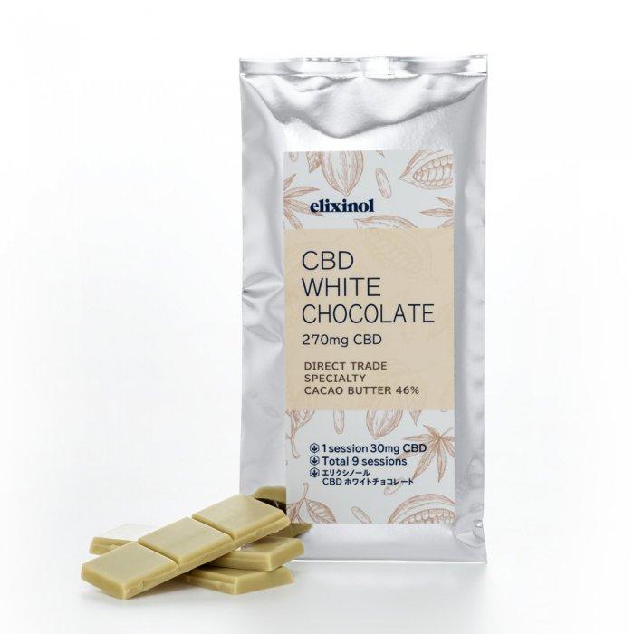 CBD Elixinol エリクシノール ホワイトチョコレート