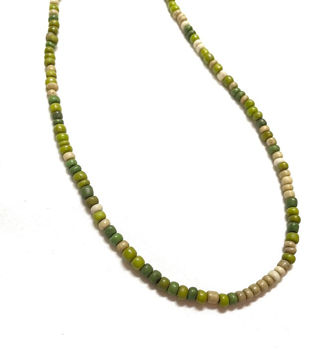 Beads Glass Code & Necklace(green)