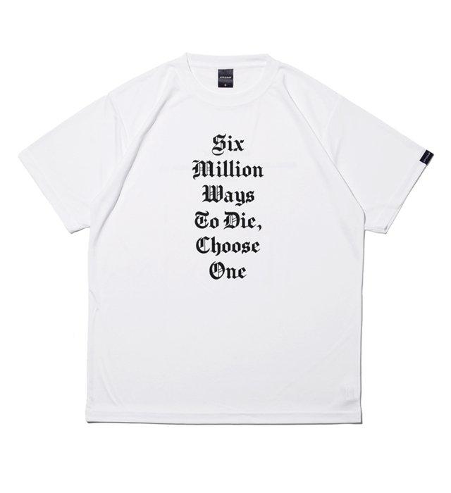 APPLEBUM(アップルバム) Elite Performance Dry T-shirt (Six Million Ways)White