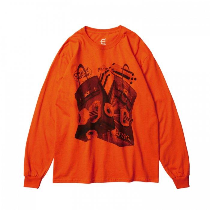 Evisen Skateboards ゑ(エビセン)RAINBOW LS (Orange)