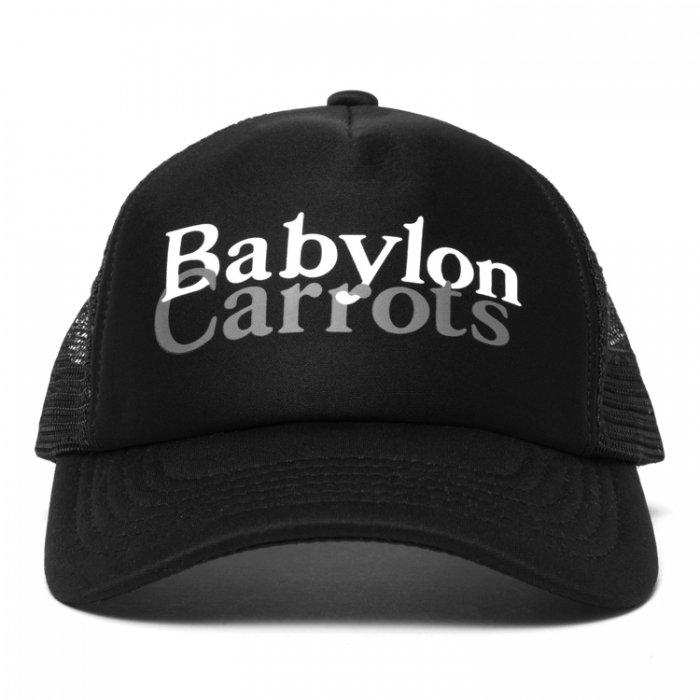 BABYLON L.A × Carrots  FORM TRUCKER SNAPBACK (Black)