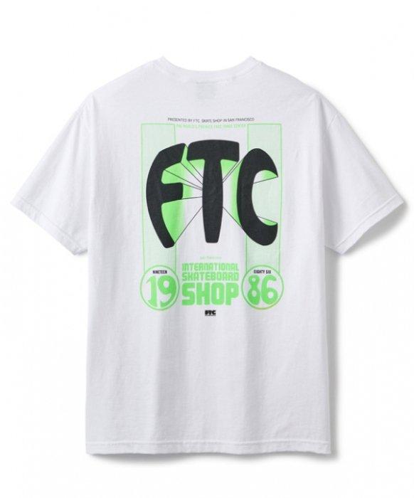 FTC / 86 BULGE TEE (White)