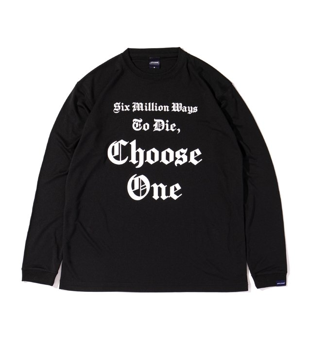 APPLEBUM(アップルバム) Elite Performance Dry L/S T-shirt (Choose One) (Black)