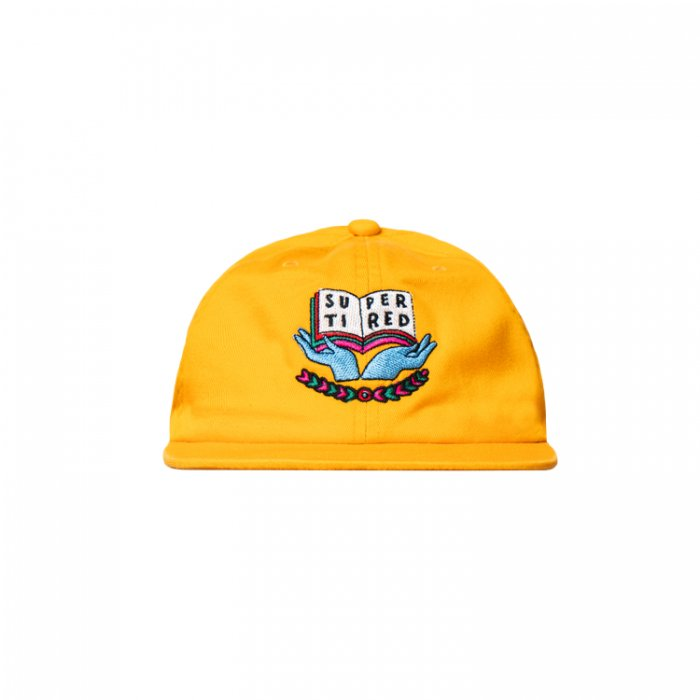 Tired(タイレッド) / SCHOLAR 6-PANEL CAP (Mustard)