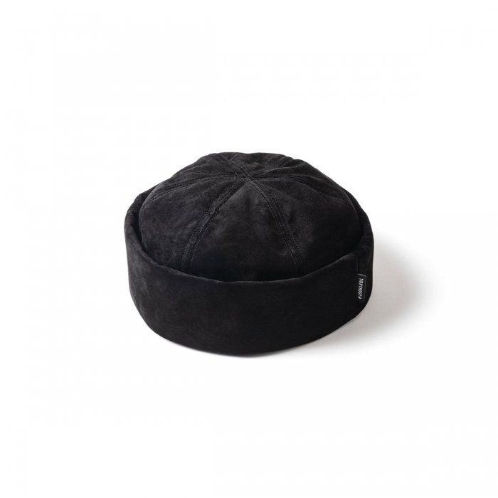 TIGHTBOOTH (タイトブース)SUEDE ROLL CAP (Black)