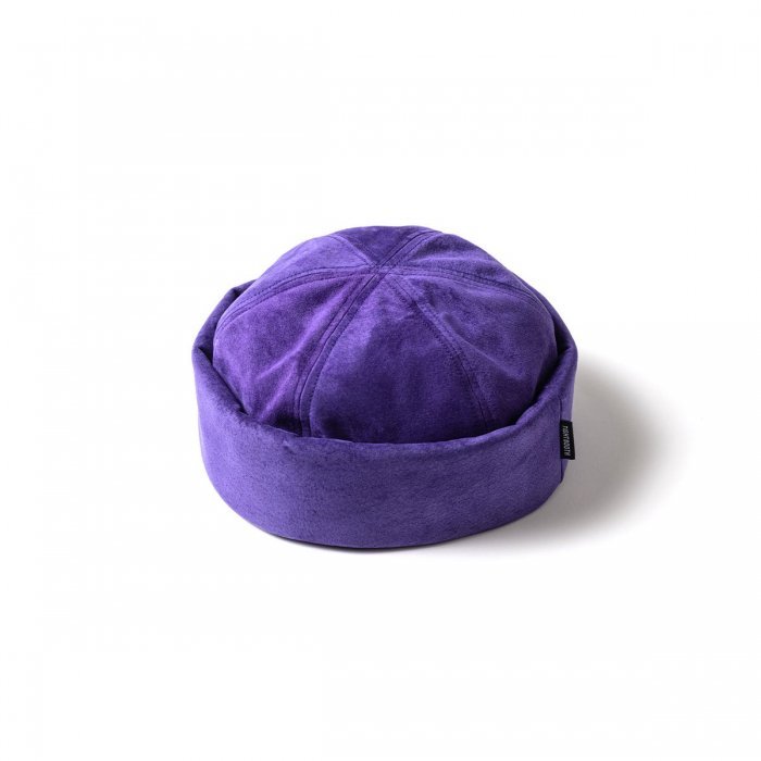 TIGHTBOOTH (タイトブース)SUEDE ROLL CAP (Purple)