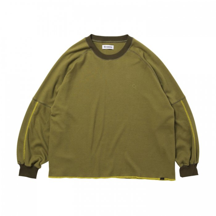Evisen Skateboards ゑ(エビセン)CONTACT THERMAL (Olive)