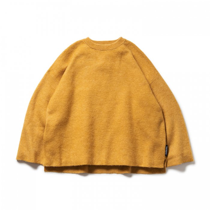 TIGHTBOOTH (タイトブース)MOHAIR SWEATER (Yellow)