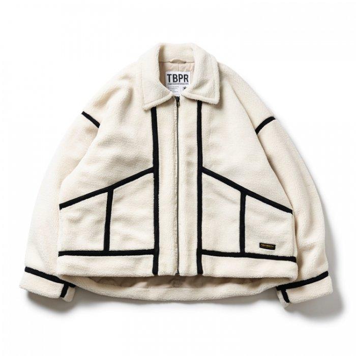 TIGHTBOOTH (タイトブース)BOA FLIGHT JKT (White)