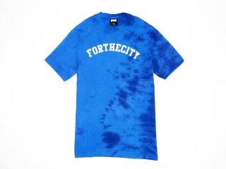 FTC -Tシャツ Tie Dye Crewブルー