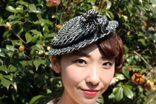 1940's vintage Hat made in paris antique ヘッドドレス 帽子 結婚式