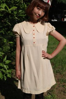 1960's vintage dot dress ヴィンテージ ワンピース 水玉 レトロ