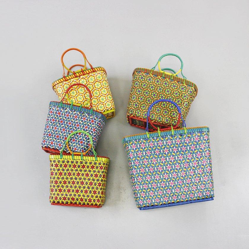 colorful marche bag S