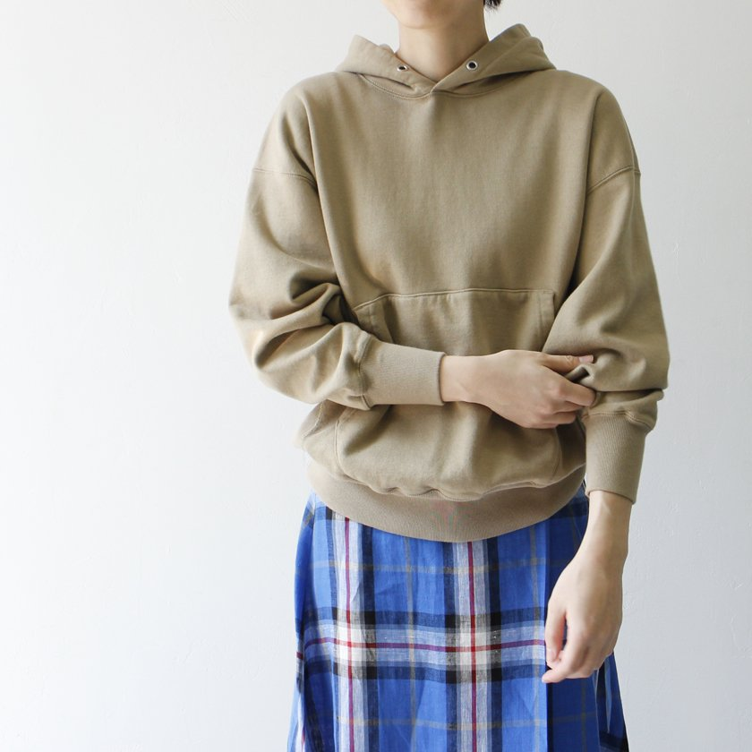CIOTA スビンコットン 吊り裏毛プルオーバーパーカー【キャンペーン対象外】