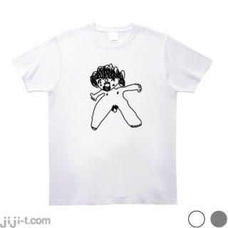 松居一代おち◯ち◯シール Tシャツ [ドロ沼離婚騒動]