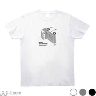 渋谷ハロウィン 軽トラ横転 Tシャツ [渋谷が暴徒化!軽トラ横転!]