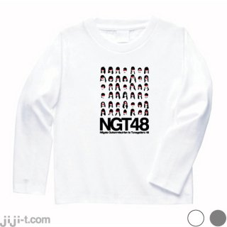 N新潟G強姦未遂ファンとTつながってる48 長袖Tシャツ