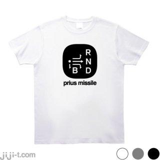 プリウスミサイル Tシャツ [高齢者の事故多発]