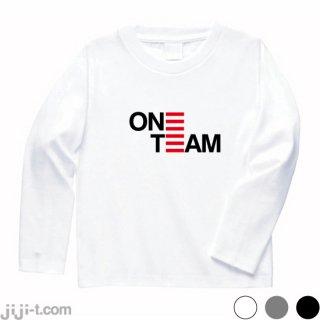 ONE TEAM ワンチーム 長袖Tシャツ [2019年 流行語大賞]