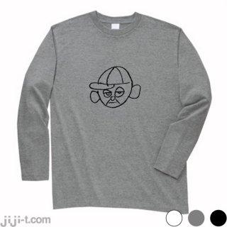 菅さん 長袖Tシャツ [祝!第99代首相]