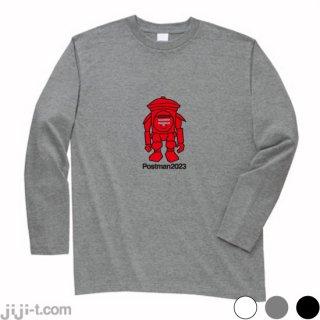 郵便ロボット 長袖Tシャツ [日本郵便 配送ロボット2023年実用化へ]