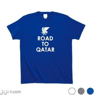 <img class='new_mark_img1' src='https://img.shop-pro.jp/img/new/icons7.gif' style='border:none;display:inline;margin:0px;padding:0px;width:auto;' />日本代表ヤタガラス Road to Qatar Tシャツ [10/7 サウジアラビア戦]