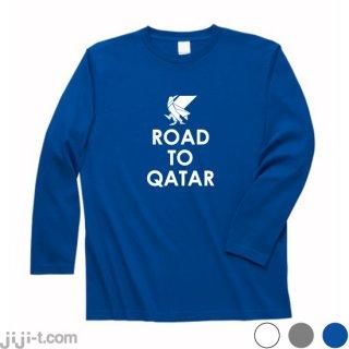 日本代表ヤタガラス Road to Qatar 長袖Tシャツ [2022年カタール大会]