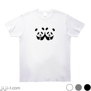 ふたごのパンダ Tシャツ [上野動物園で双子の赤ちゃんパンダ誕生]