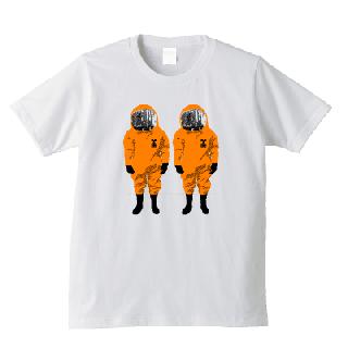 原発隊員 Tシャツ