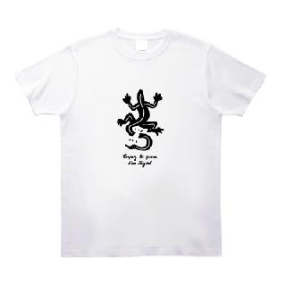 とかげのしっぽきり Tシャツ [新国立問題 幕引き]