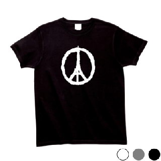 PEACE FOR PARIS Tシャツ [パリテロ事件 追悼]