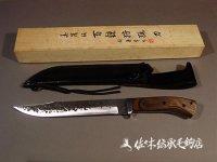 美濃伝・百錬狩猟刀・大