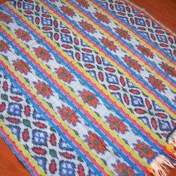 手織りイカットBL2 120×250(cm)
