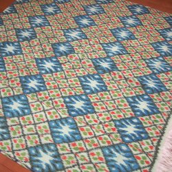 手織りイカットGR 120×250(cm)