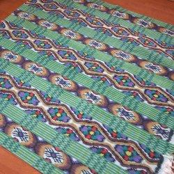 手織りイカットGR2 120×250(cm)
