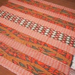 手織りイカットOR 120×250(cm)