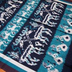 手織りイカット11B 120×250(cm)