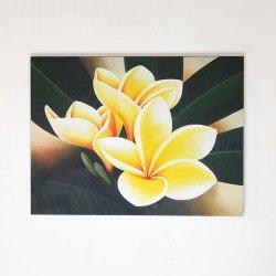 プルメリア(フランジパニ) YELLOW  60×80(cm)