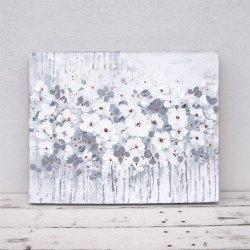 WHITE FLOWER 50×40(cm)