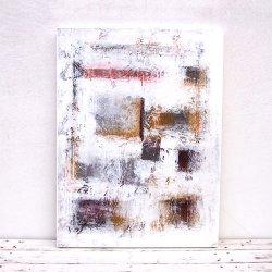 モダンアート ホワイトB 60×80(cm)