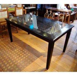 【送料無料】あみあみダイニングテーブル W148(cm)