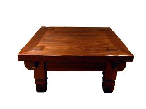 【送料無料】古材風リビングテーブル