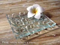 バリガラス フランジパニプレート14cm