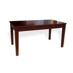 【送料無料】引出し付きダイニングテーブル W145(cm)