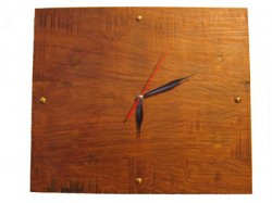 古材風デザイン 時計