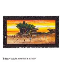 Sunset Tanah Lot 139×78(cm)